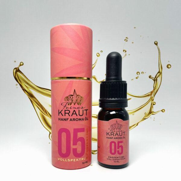 Feines Kraut eU / Online Shop für Premium CBD / Cannabis Öl 5%