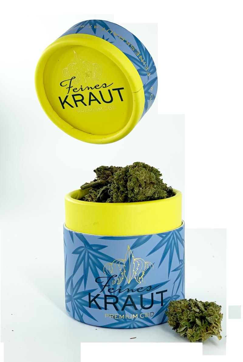 Feines Kraut eU. | 3+1 GRATIS | Premium CBD | Aromablüten | CBD Gras | CBD Weed