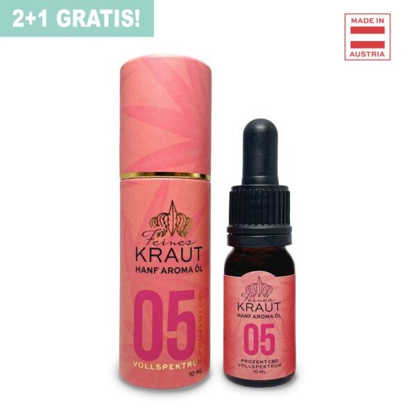 5% CBD Öl Vollspektrum / Feines Kraut e.U.