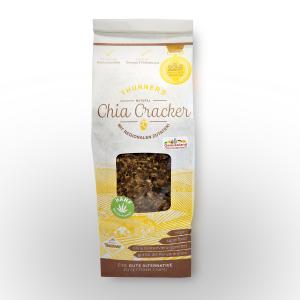 Chia Cracker / Bäckerei Konditorei Thurner / Feines Kraut EU/ Hanf-Knabbergebäck